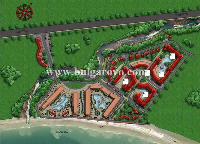 Aheloy Beach Residence En Bulgarovo